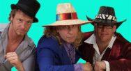 Huub, Henk en Harrie, trio Tony B Band