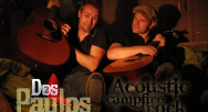 Acoustisch duo Dos paulos gitaarduo kampvuur liedjes